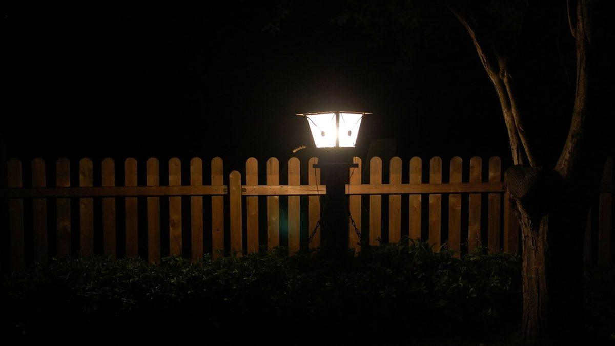lampy led w ogrodzie